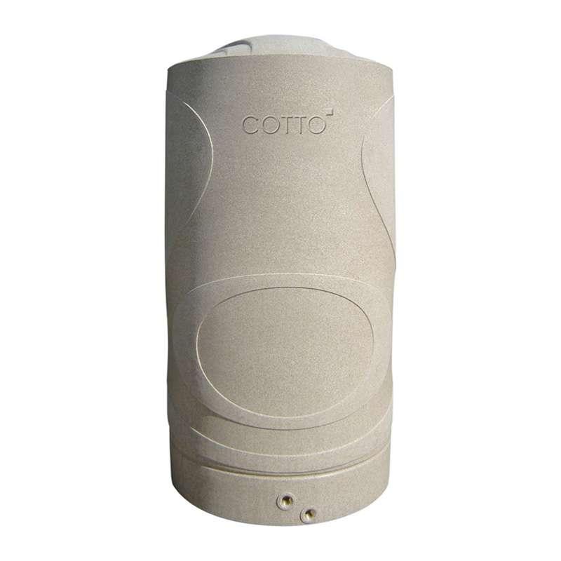 CJ1500S ถังเก็บน้ำบนดิน COTTO รุ่นมาตรฐาน สีแซนสโตน ขนาด 1,500 ลิตร