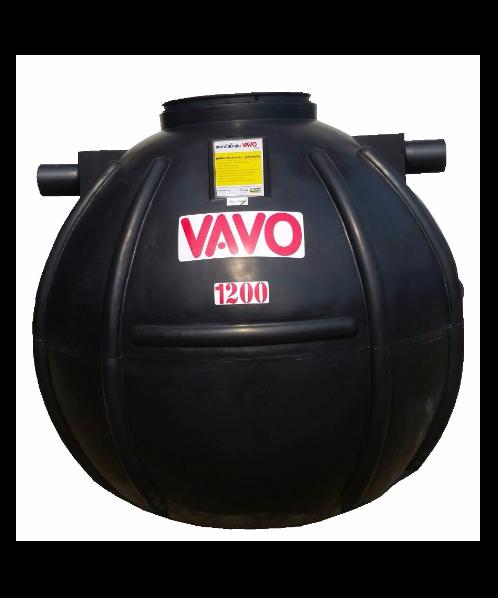 VAVO ถังบำบัดน้ำเสีย 1200 ลิตร vavo king ดำ