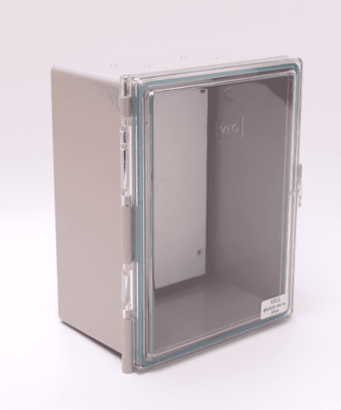 V.E.G ตู้กันน้ำฝาใส TS002-GT สีเทา