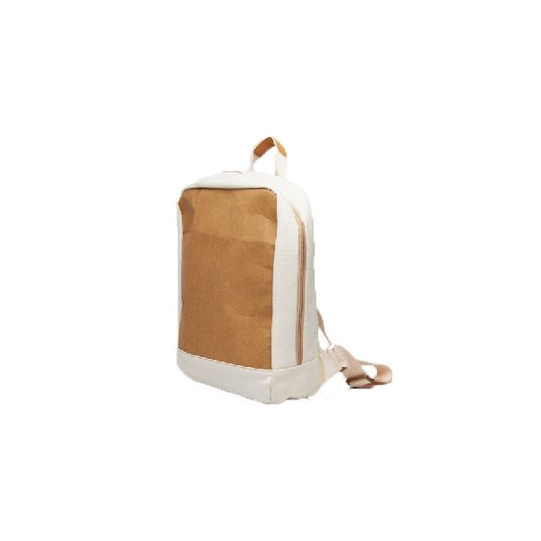 กระเป๋าเป้ Kraftpaper + Canvas Backpack Light Brown D4950 - Shutter Life