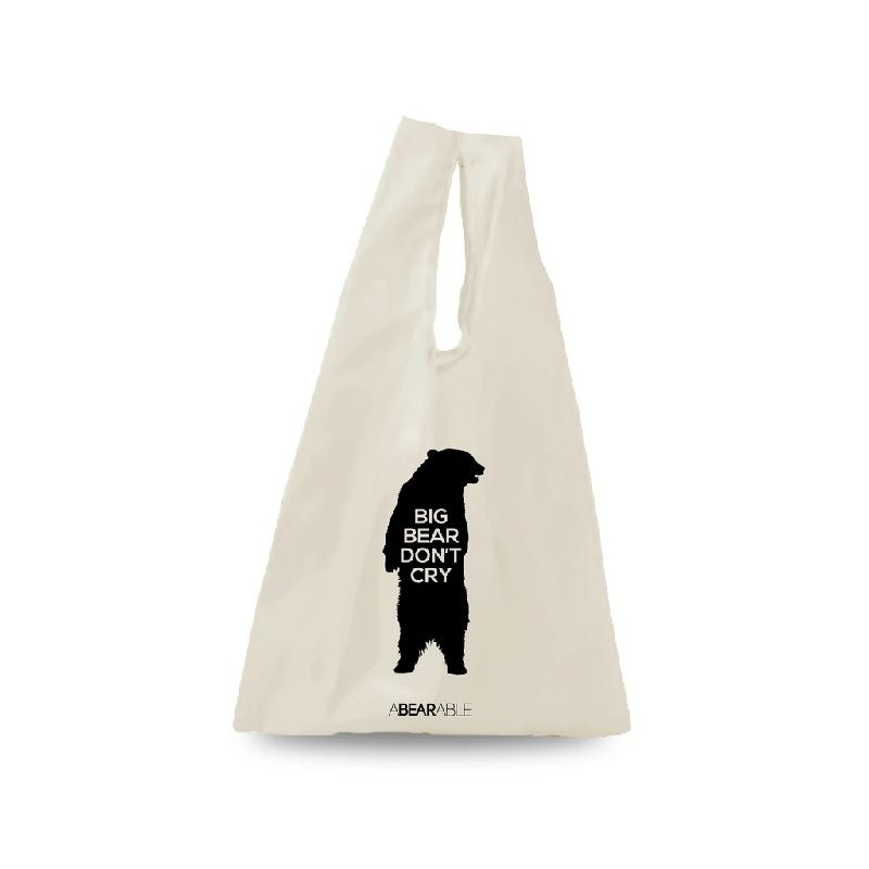 กระเป๋า Lunch bag ลาย Bag BIG BEAR DON'T CRY, Lunch bag - Abearable