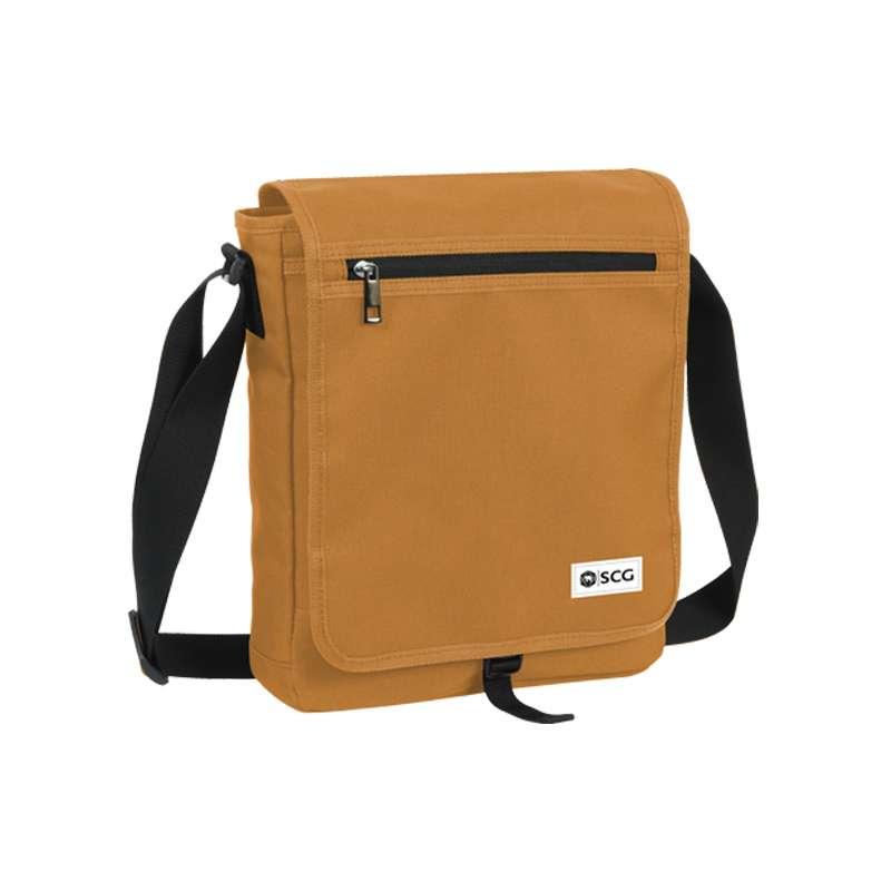 กระเป๋าสะพายข้าง เบสิก PFB สีแทน