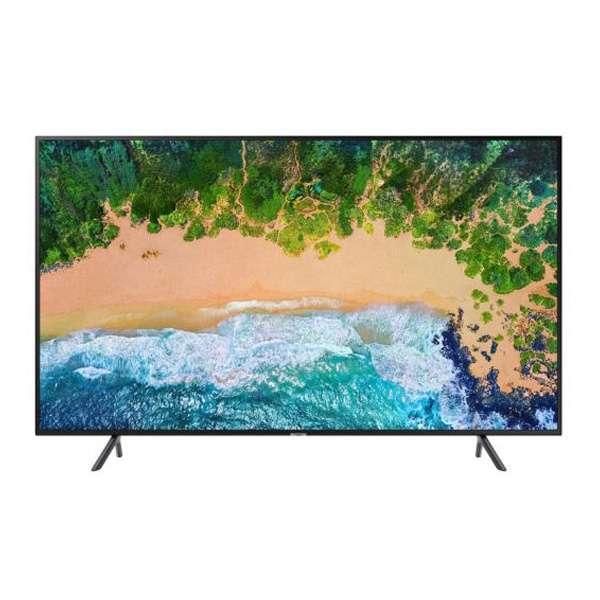 "SAMSUNG TV UHD LED (43"", 4K, Smart) รุ่น UA43NU7100KXXT ดำ 43"""
