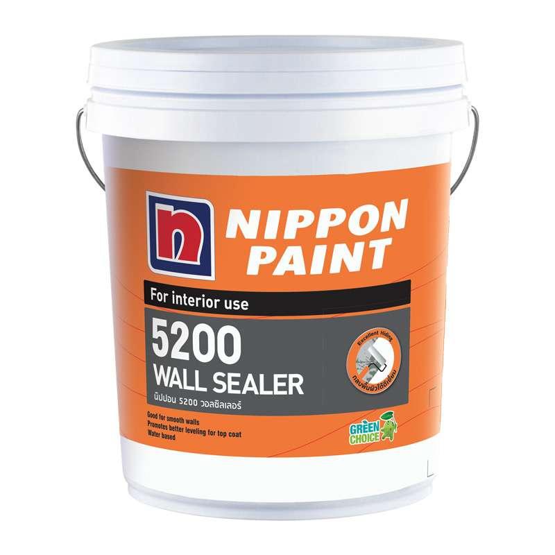 สีรองพื้นปูนใหม่ 5200 5GL NIPPON