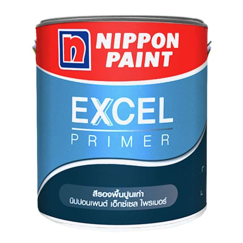 สีรองพื้นปูนเก่า EXCEL PRIMER 1GL NIPPON