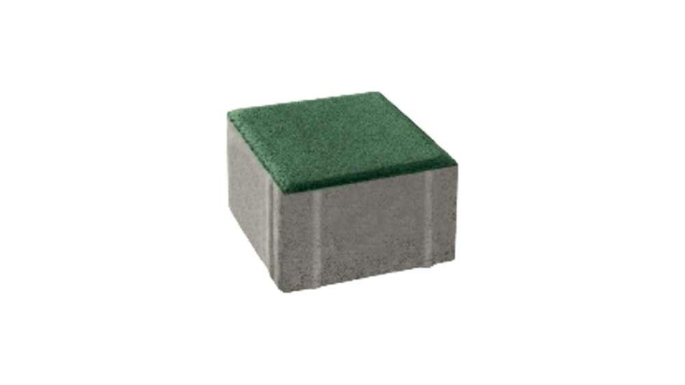 บล็อกปูพื้น เอสซีจี รุ่น ศิลาเหลี่ยม คูลพลัส ขนาด 10 X 10 X 6 ซม.(8 ก้อนต่อห่อ) สีเขียว