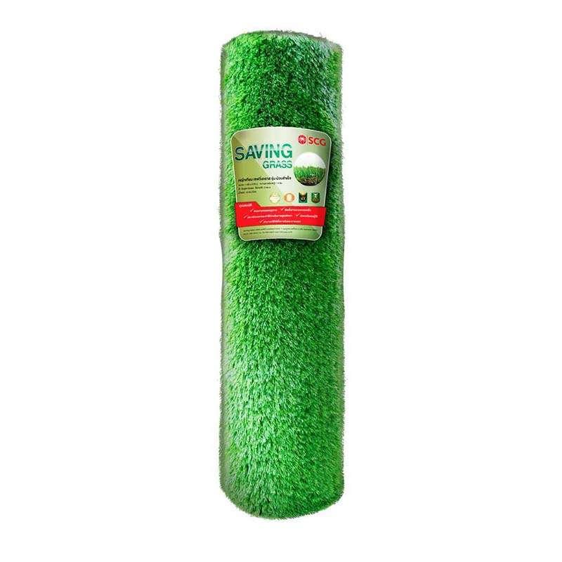 หญ้าเทียม อีซี่กราส เอสซีจี เซฟวิ่งกราส รุ่นม้วน ความยาวเส้นหญ้า 4 ซม.ขนาด 100x200 ซม. สี ไบรท์กรีน